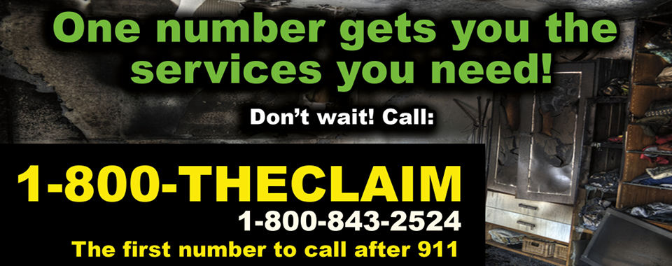 1-800-The-Claim is the first number to call after 911